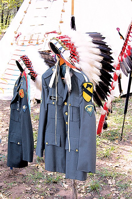 The veterans memorial honors Native Americans who have served in the U.S. armed forces. - SMITHSONIAN INSITUTION / PROVIDED