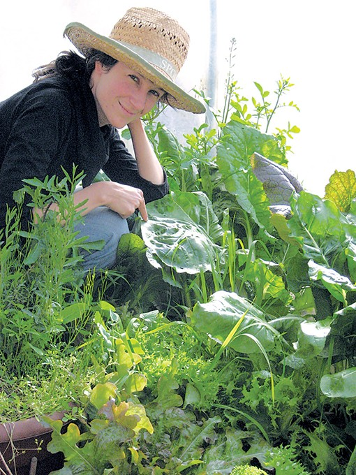 Stephanie Holiman teaches organic gardening classes at various locations around Oklahoma City and Chile. - STEPHANIE HOLIMAN / PROVIDED