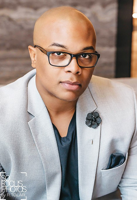Apollo Woods is the founder of OKC Black Eats and organizer of the first Black Foodie Summit. - PROVIDED
