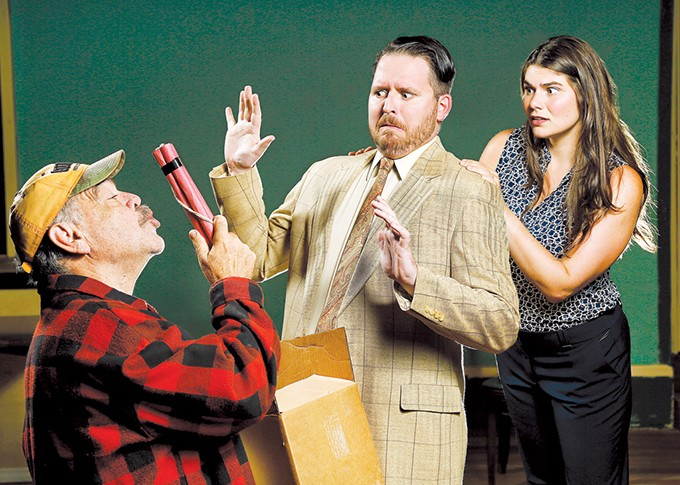 Larry Shue's The Foreigner, considered a challenging favorite for comedic actors, will be performed at Jewel Box Theatre. - JIM BECKEL / PROVIDED