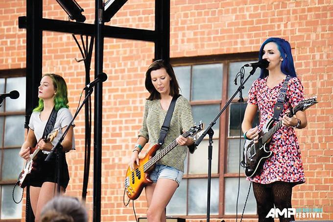 Shawnee's Shoulda Been Blonde headlines this year's AMP Festival. - SARAH ZUBAIR