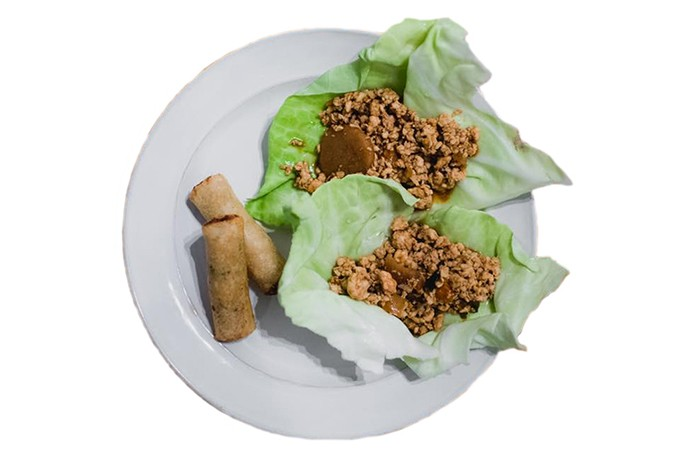 Asian lettuce wraps from Speedy Spoons' April menu - PROVIDED
