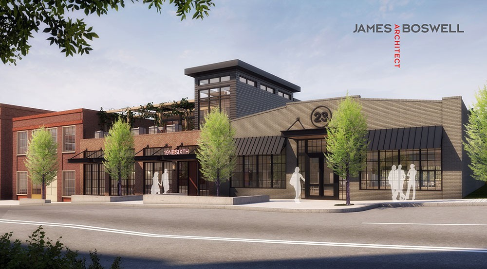 Auto Alley warehouses to be transformed to restaurant and rooftop