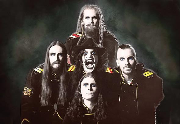 Swedish melodic death metal act Avatar plays Diamond Ballroom Friday with Trivium. - JOHAN CARLEN/PROVIDED