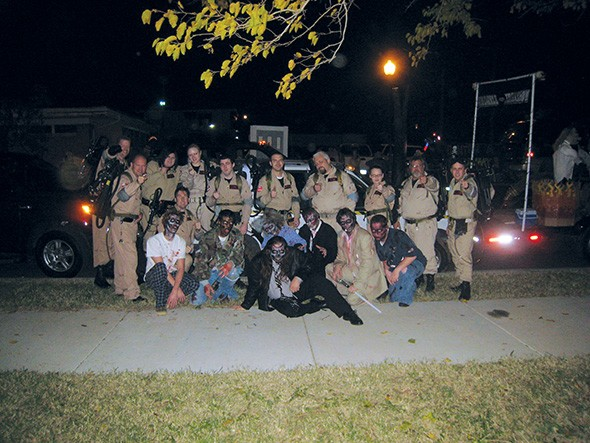The Central Oklahoma Ghostbusters appear at conventions and charity events in the Oklahoma City and Norman area, but don't try to call them about actual ghosts. - RYAN MCKINLEY / PROVIDED