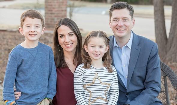 from left George Holt, Rachel Holt, Margaret Holt, David Holt - PROVIDED