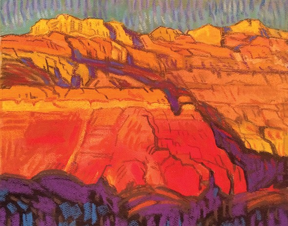 """Chana Cliffs"" by Brad Price - THE DEPOT GALLERY / PROVIDED"
