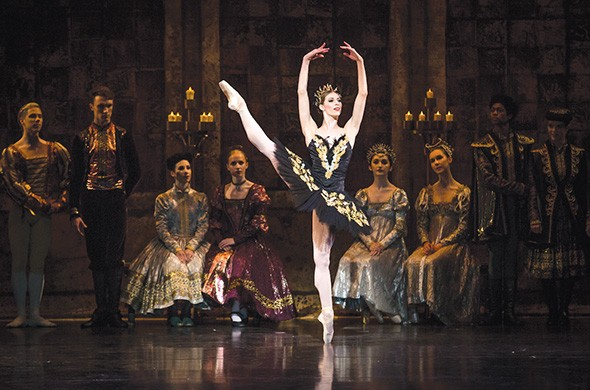 Courtney Connor Jones in Swan Lake - KATE LUBER / PROVIDED