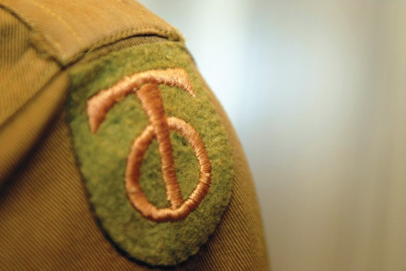 The insignia worn by the 90th Infantry Division also called the TOs or Tough Ombres. - NATIONAL COWBOY & WESTERN HERITAGE MUSEUM / PROVIDED