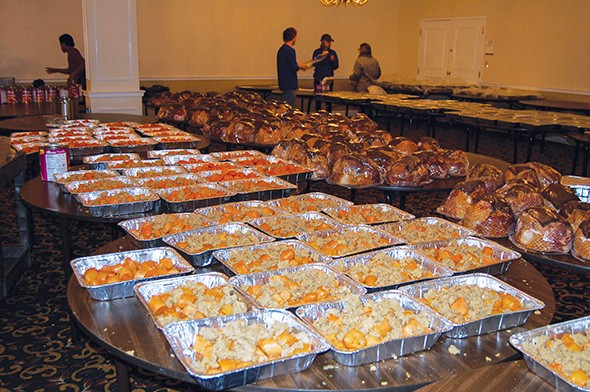 This year, Dinner With Love will deliver 900 meals that will feed around 9,000 people. - DINNER WITH LOVE / PROVIDED