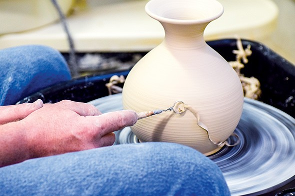 The annual ceramics sale at Oklahoma Contemporary, 3000 General Pershing Blvd., offers shoppers the chance to buy - items created by students and instructors in the arts center's education program. - PROVIDED
