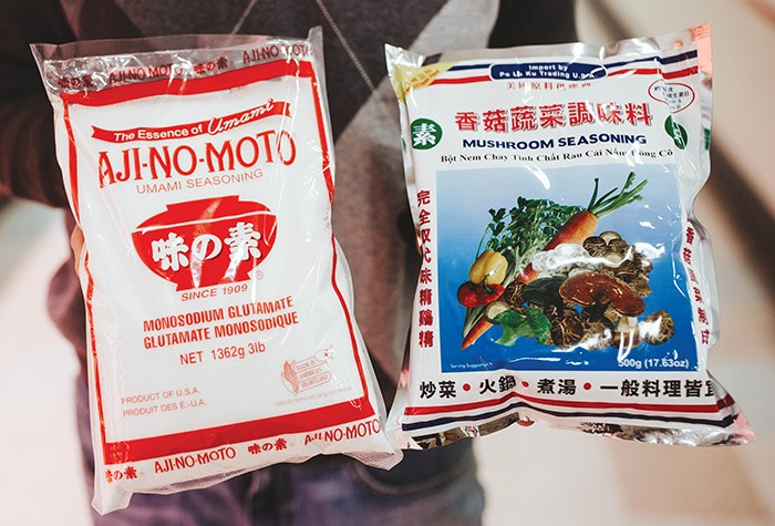 Aji-no-moto is the top selling brand of MSG in the world. Mushroom seasoning is an all-natural replacement for MSG, harnessing natural glutamic acid in mushrooms. - ALEXA ACE