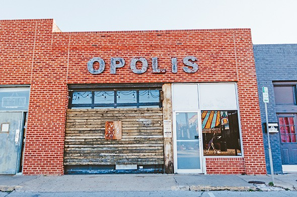 Opolis' food menu focuses on vegan comfort food. - ALEXA ACE