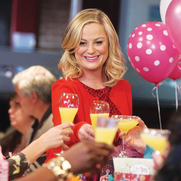 Galentine's Day, an alternative or extra Valentine's Day celebration, was created by Parks and Recreation show co-creator Michael Schur. - NBC / PROVIDED