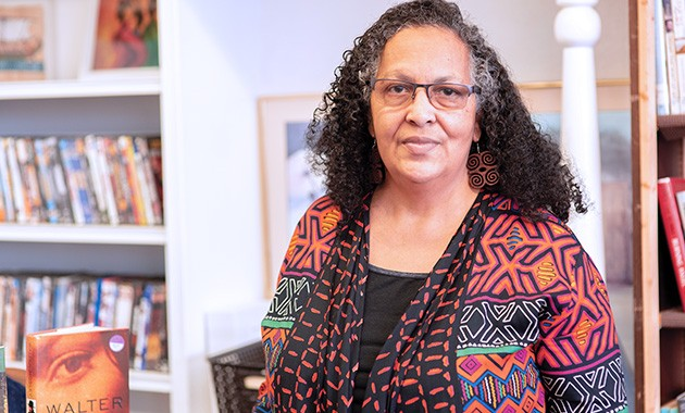Camille Landry, owner of Nappy Roots Books, said the store functions as a community center representative of its location in northeast Oklahoma. - MIGUEL RIOS