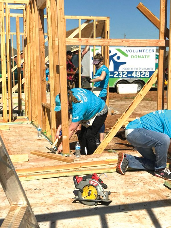 This year, Women Build participants will - build a home for Ariel Beasley. - CENTRAL OKLAHOMA HABITAT FOR HUMANITY / PROVIDED