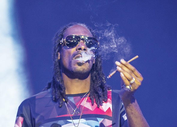 Snoop Dogg, shown at the 2015 Life Is Beautiful Festival in Las Vegas, Nevada, was supposed to be the headliner at 2018's Hempfest in Oklahoma City. - BIGSTOCK.COM