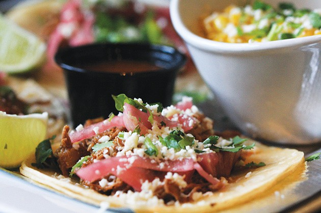 Yucatan Taco Stand is serving its barbacoa taco — normally 11.99 — for $8.95 during Taco Week. - PROVIDED
