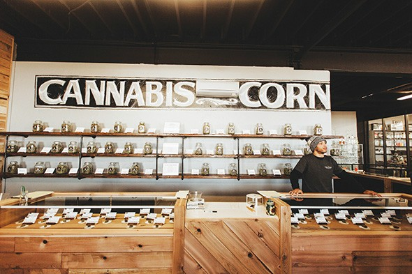 Fire Leaf opened its newest dispensary in Stockyards City in a building the Doolittle family has owned for nearly 50 years. - ALEXA ACE