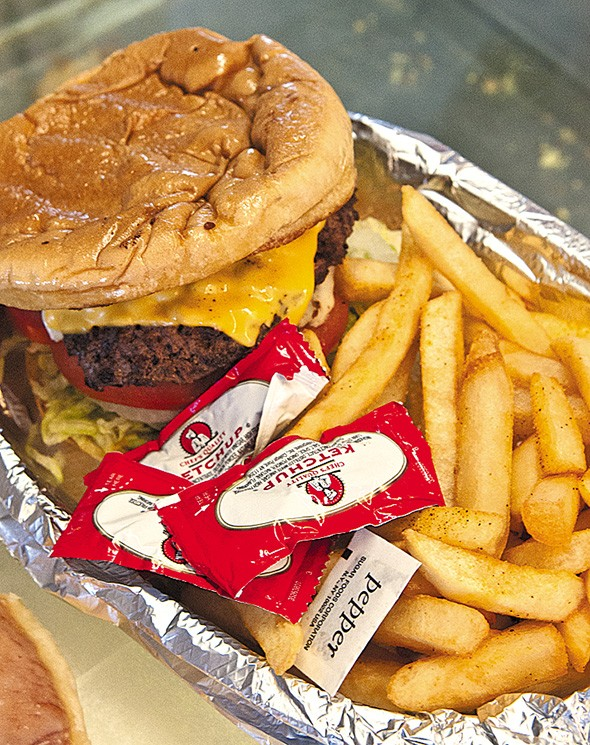 A hamburger from Geronimo's Bakery - GAZETTE / FILE