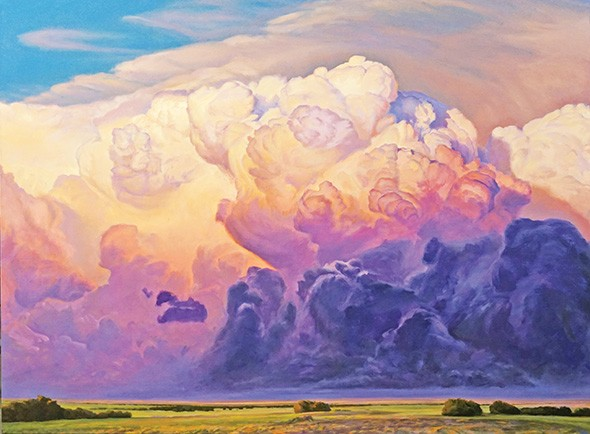 """""""On Shoulders of Giants"""" by David Holland - MAINSITE CONTEMPORARY ART / PROVIDED"""