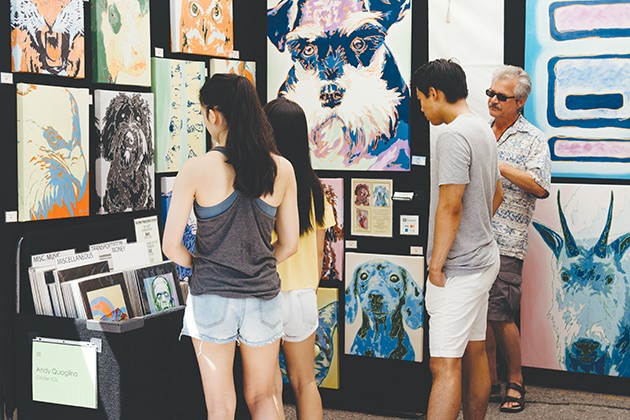 The 43rd annual Paseo Arts Festival takes place over Memorial Day weekend, May 25-27, in The Paseo Arts District. - PROVIDED
