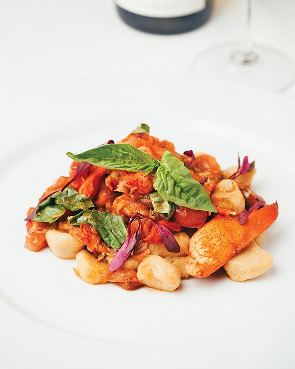 The lobster pomodoro at St. Mark's Chop Room served with sweet potato gnocchi - PROVIDED