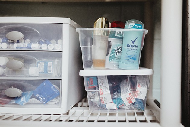 Basic toiletries and self-care supplies are in continual need at Sisu Youth Services. - ALEXA ACE