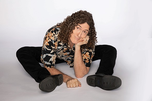 """Weird Al"" Yankovic performs with a full orchestra June 21 at The Zoo Amphitheatre. - PROVIDED"