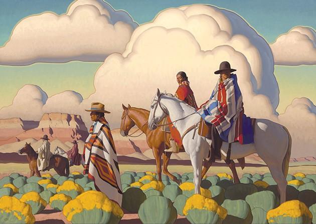 """Sagebrush Wanderers"" by Logan Maxwell Hagege - NATIONAL COWBOY & WESTERN HERITAGE MUSEUM / PROVIDED"