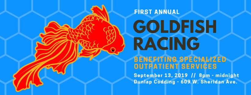 1st Annual Goldfish Races | Dunlap Codding | Happenings