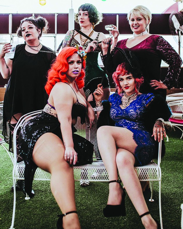 Dust Bowl Dolls Burlesque performs 10 p.m. Saturday on the OKC Pride Main Stage. - TAYLOR WHITEHURST /  PROVIDED