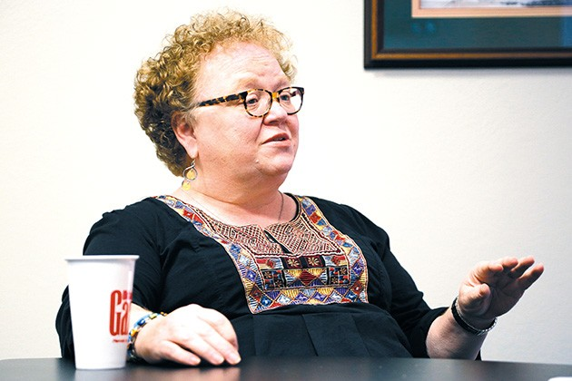 Neighborhood Alliance of Central Oklahoma executive director Georgie Rasco hopes to see close cooperation between Gourley's OKCPD and neighborhoods to build safer communities. - GAZETTE / FILE