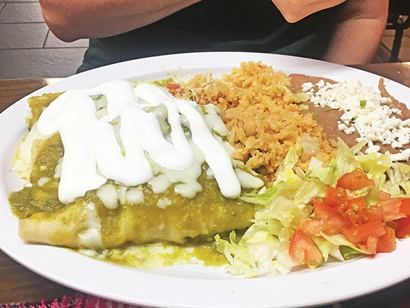 Chicken enchilada verde - JACOB THREADGILL