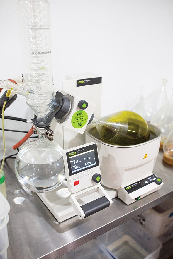 Red Dirt Labs is an Oklahoma City processing facility that makes a range of products. - ALEXA ACE