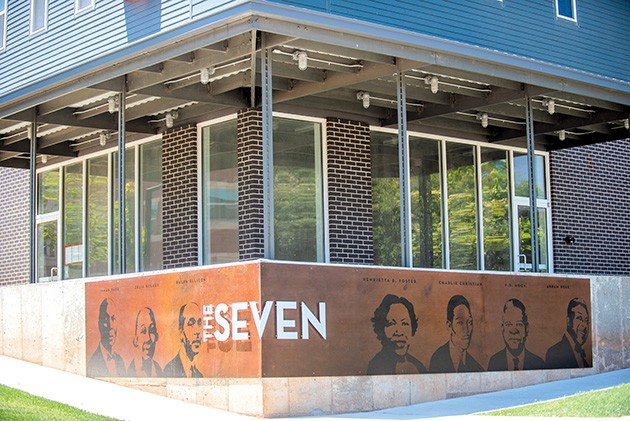 The Seven at Page Woodson is named for seven important historical African American figures the community selected. - MIGUEL RIOS
