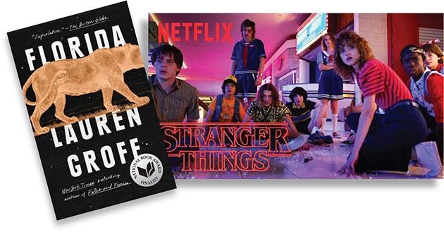 Stranger Things | Photo Netflix / provided • Florida | Image Riverhead Books / Penguin Random House / provided
