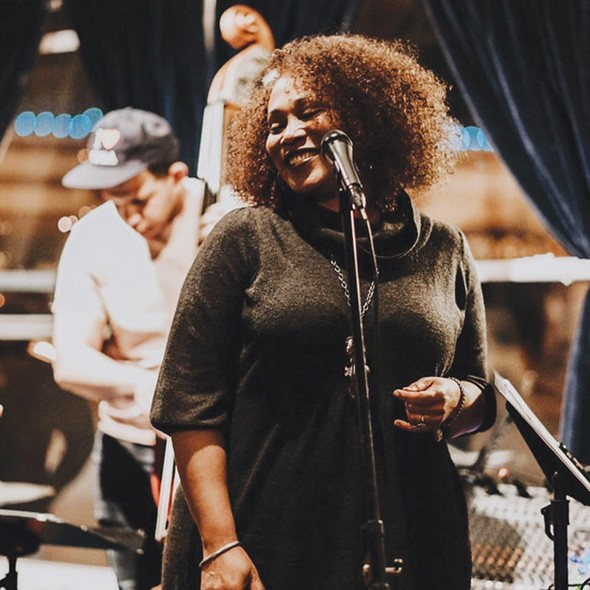 Vocalist Chanda Graham performs as part of a local lineup assembled especially for the Woodstock-inspired concert 7-10 p.m. Aug. 17. - DOUG HOKE / PROVIDED