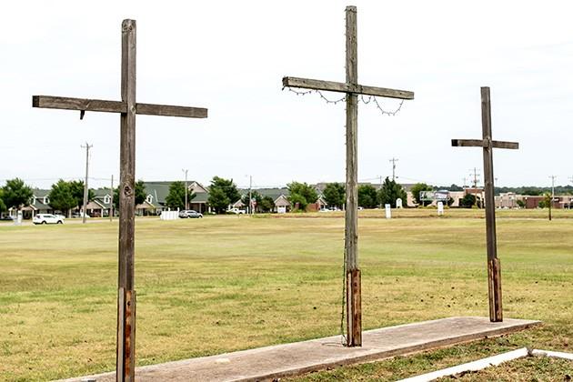 "Edmond Trinity Christian Church hosted the ""Isaiah Lewis: Where do we go from here?"" event July 29. - ALEXA ACE"