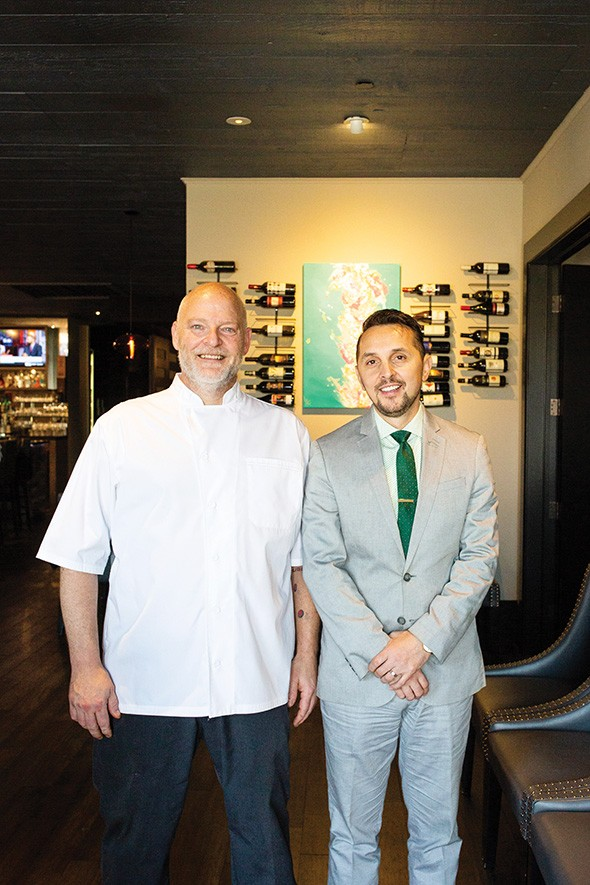 Chef Bill Forster and Enis Mullaliu opened Piatto Italian Kitchen in August. - ALEXA ACE