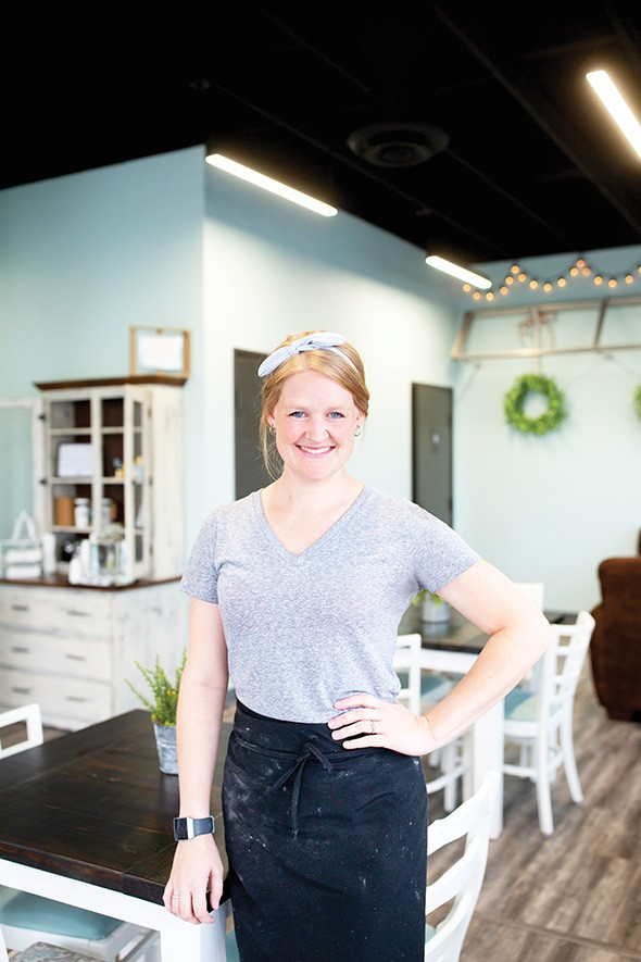 Savannah Tillman spent three years as the head baker for Pie Junkie before opening Sunshine Baking Company. - ALEXA ACE