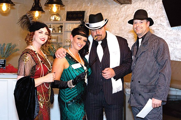 Unlike a traditional dinner theater murder mystery, Murder at the Juke Joint features a cast of characters made up of ticket buyers. - PROVIDED