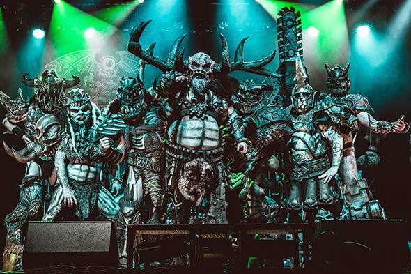 Gwar's Use Your Collusion tour lands 7:30 p.m. Oct. 30 at Diamond Ballroom. - PROVIDED