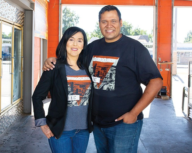 Crudoolandia owner Nancy Soto Hallman and husband Greg Hallman - ALEXA ACE