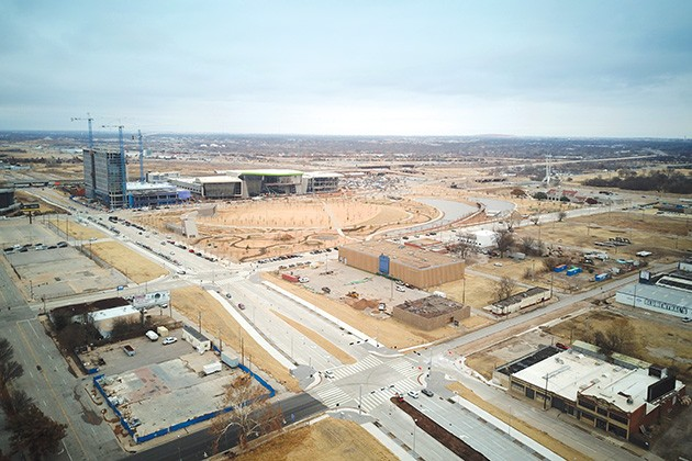Oklahoma City acquired Hilltop Plaza's properties in 2013 for $2.5 million through eminent domain. - PETER J. BRZYCKI