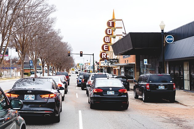 The approval of Uptown 23rd Business Improvement District brings biweekly sidewalk cleaning, annual sidewalk power washing and weekend security starting in January. - ALEXA ACE