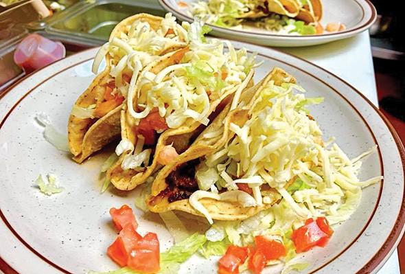 Crispy tacos - PROVIDED