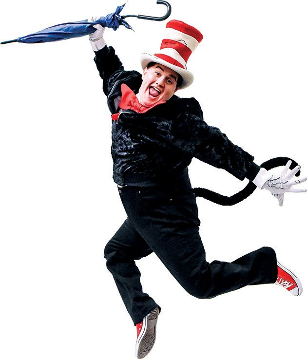 Josiah Brooks plays the title character in The Cat in the Hat - K. TALLEY PHOTOGRAPHY / PROVIDED