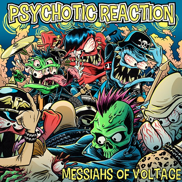 Messiahs of Voltage was released online Jan. 21. - KEVIN SAUNDERS