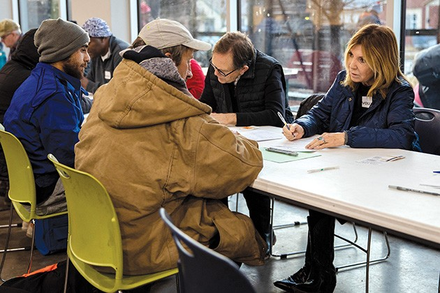 The count helps provide a snapshot of the scope of homelessness in OKC but isn't an exclusive measuring tool and only represents a portion of the actual population. - NATHAN POPPE / THE CURBSIDE CHRONICLE / PROVIDED